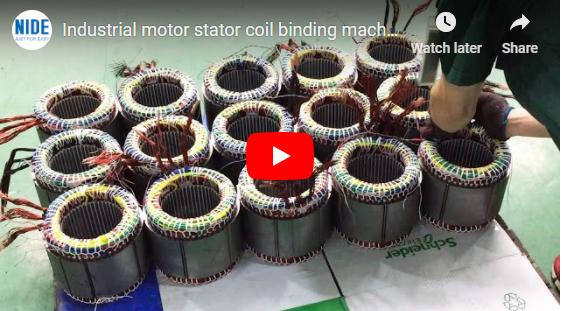 turnover motor stator coil forming and shaping machine