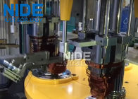 Efficent Automatic Coil Winding Machine / Wire Coil Inserting Machine Four Working Station