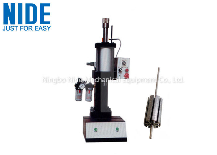 Manually Armature Shaft Rotor Assembly Line For Radiator Cooling Fan Motor