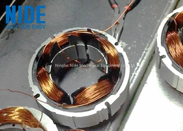 350 Kg Servo Precision Stator Coil Winding Machine For Bladeless Fan Motors