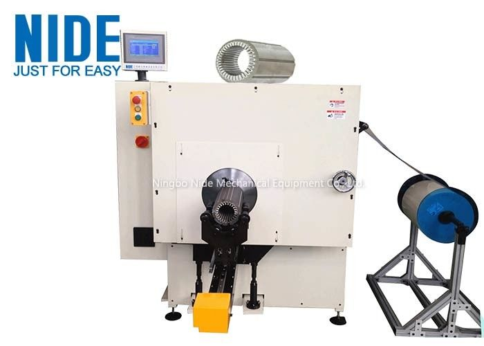 Insulation Paper Inserter Machine For Medium Submersible Water Pump Motor