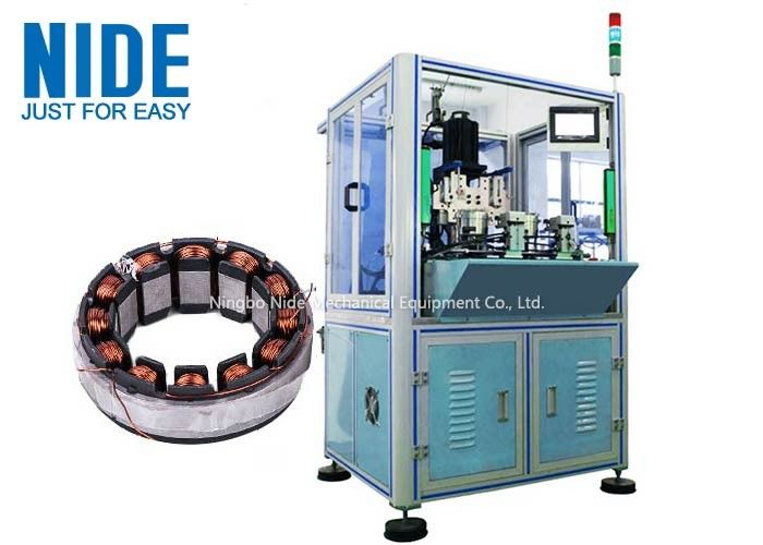 Automatic BLDC double working stations Burshless motor stator needle winding machine / Stator ID 10-100mm