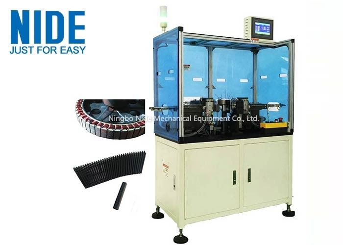Double Station Wheel Motor Wedge Inserting Machine for Electrical bike