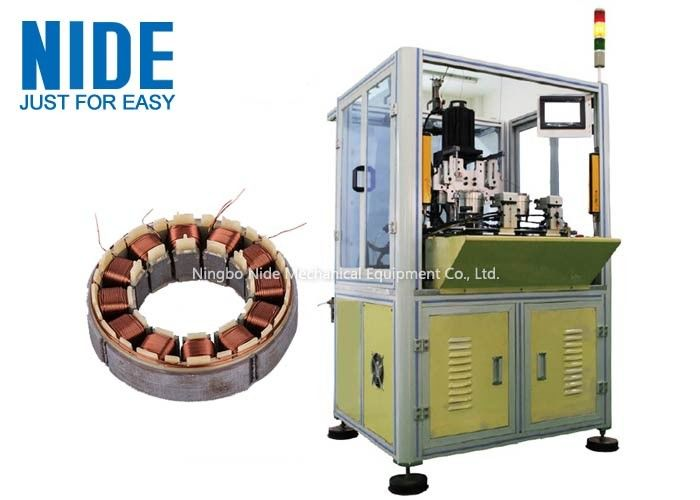 BLDC Motor Coil Winding Machine / Fan Stator Winding Machine Servo System