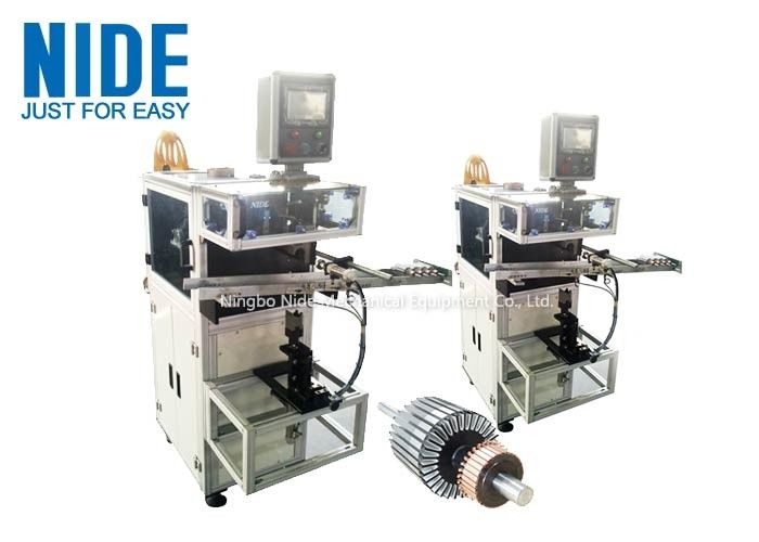 Armature Insulation Paper Insertion Machine For Dc Motor , Wiper Motor