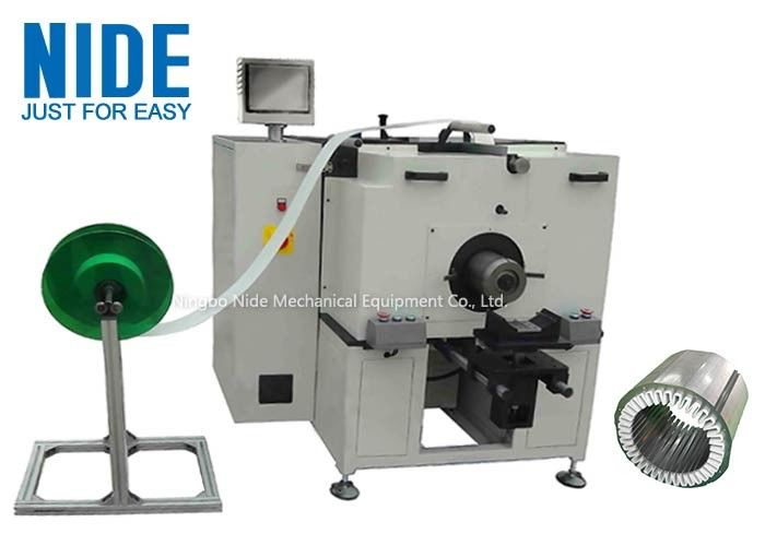 Horizontal Stator Insulation Paper Inserter Equipment Low Noise Fast Speed