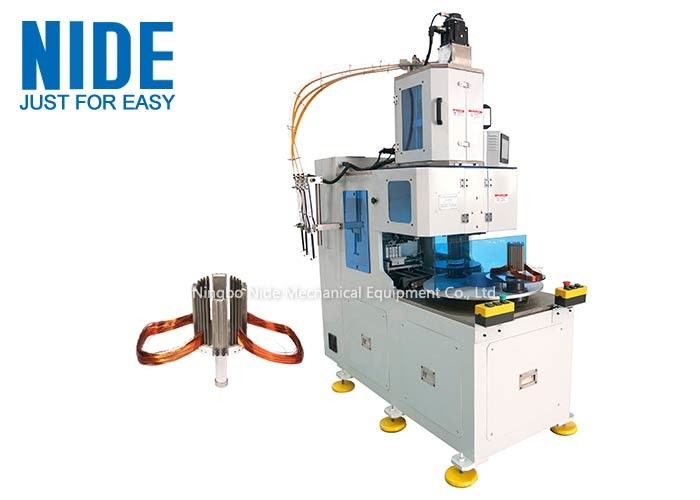 NIDE automatically stator coil winding machine low noise two working stations