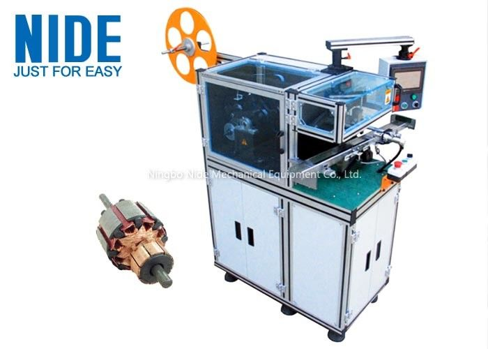 Automated Mixer Motor Armature Wedge Inserting Machine High Speed