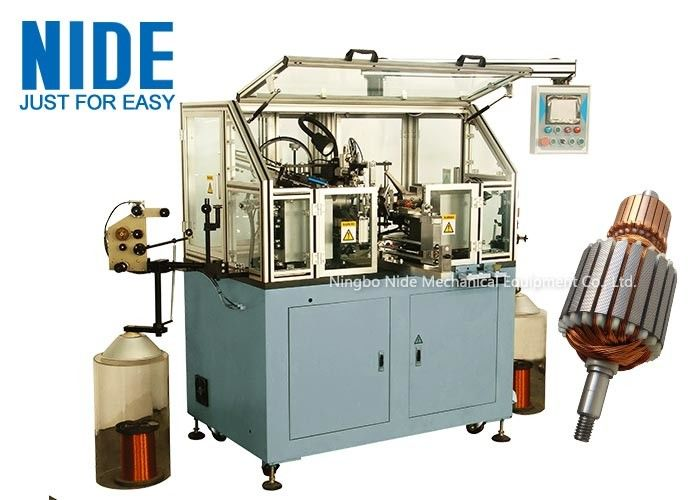 Electric Armature Winding Machine For Meat Grinder And Mixer Motor Rotor