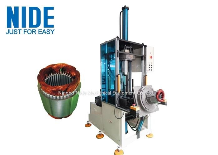 Electrical Motor Stator Coil Forming Machine For Copper Wire / Aluminum Wire