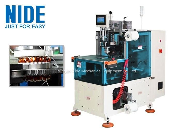 Compression Middle Electric Motor Winding lacing Machine With Touch Screen Control