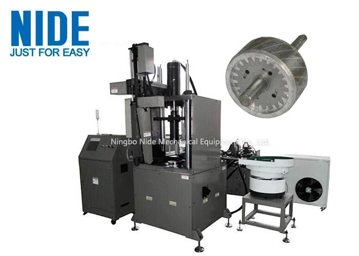 Aluminum Armature rotor Die-Casting Machine with 4 working station