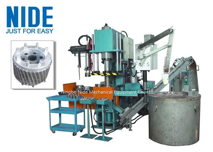 Auto Four Working Station Armature Casting Machine For Aluminum Rotor Die Casting
