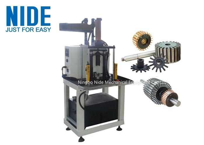 Servo Automatic Armature Commutator Shaft pressing Inserting Machine in universal electric motor production line
