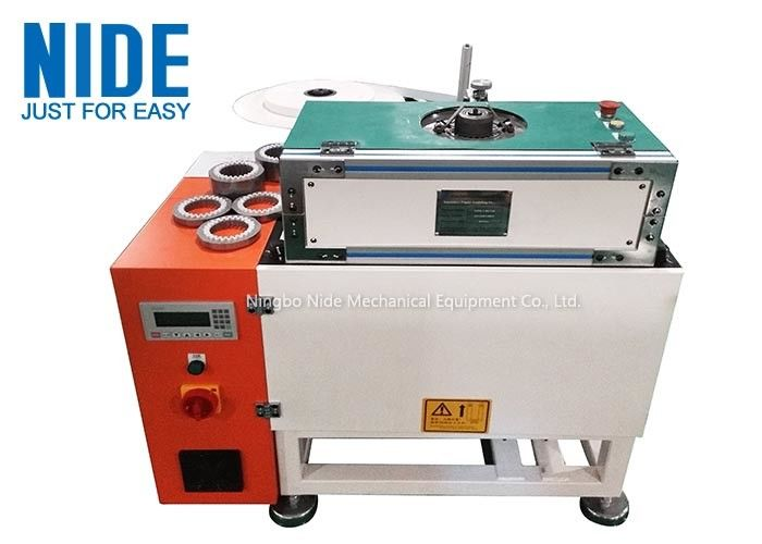 Automatic Slot insulation paper inserting machine for electric motor stator,slot paper folder and insertion equipment.